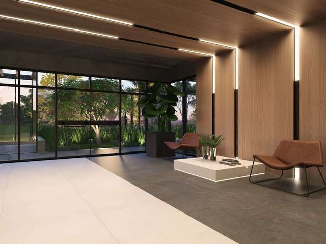 Lobby (perspectiva 3D)