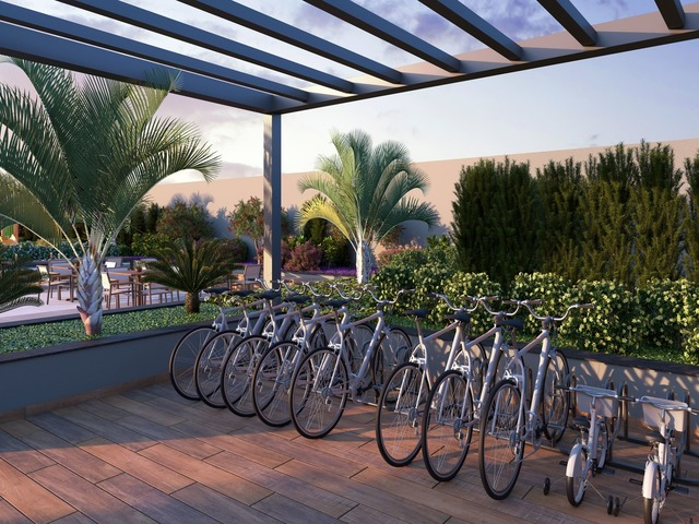 Bike sharing (perspectiva 3D)