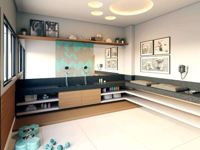 Pet care (perspectiva 3D)